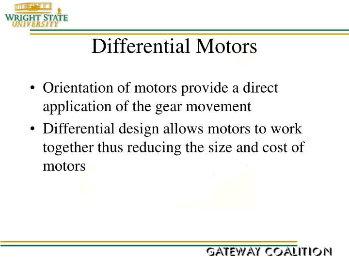 Differential Motors