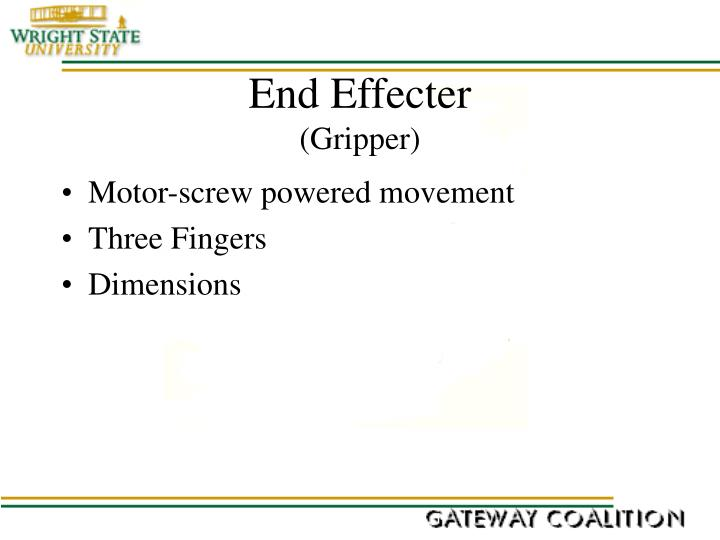 End Effecter