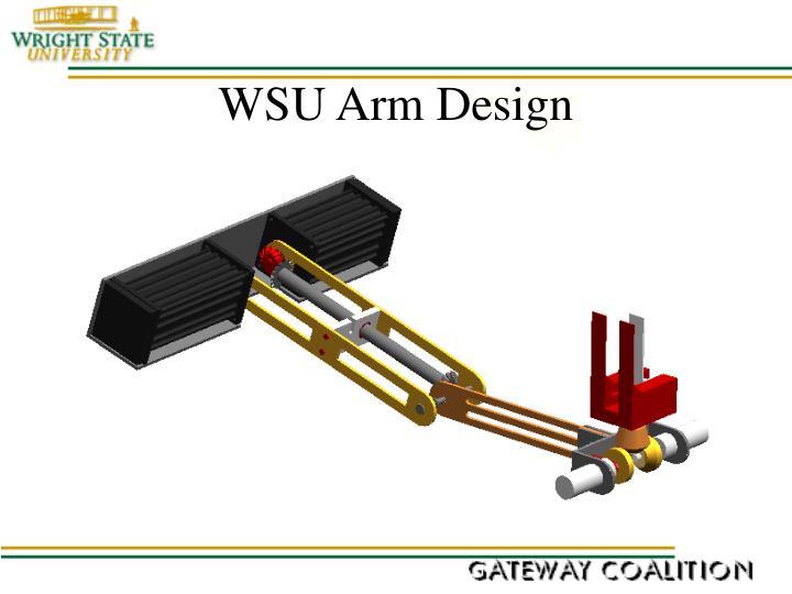 WSU Arm Design