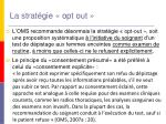 la strat gie opt out
