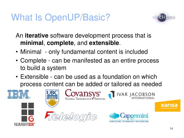 What Is OpenUP/Basic?