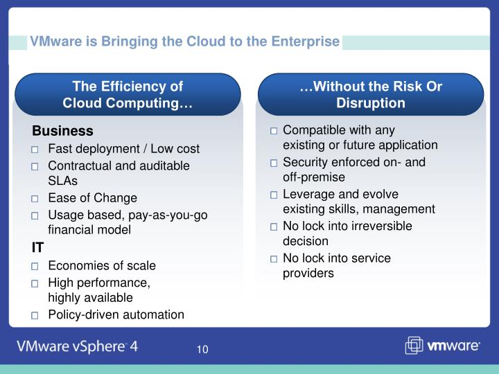VMware is Bringing the Cloud to the Enterprise