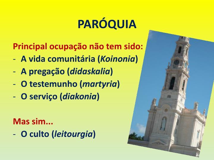 PARÓQUIA