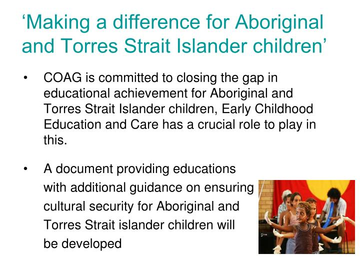 Aboriginal And Torres Strait Islander Syllabus Outcomes