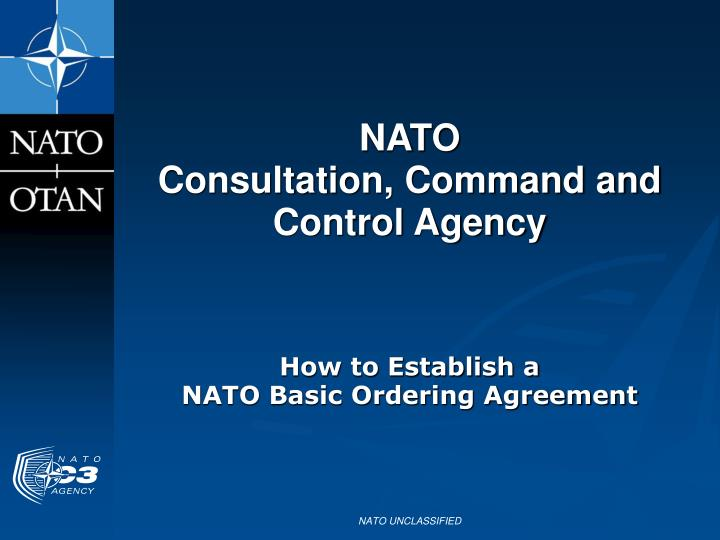Nato consultation command and control agency