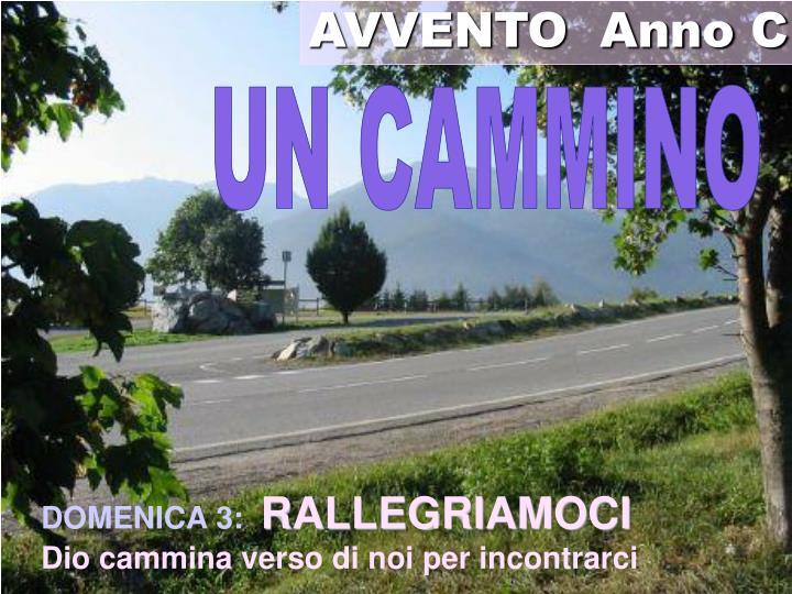 AVVENTO  Anno C