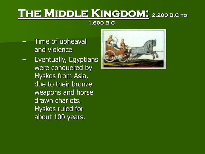 The Middle Kingdom: