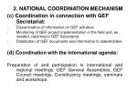 2 national coordination mechanism10