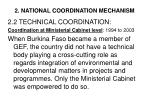 2 national coordination mechanism4