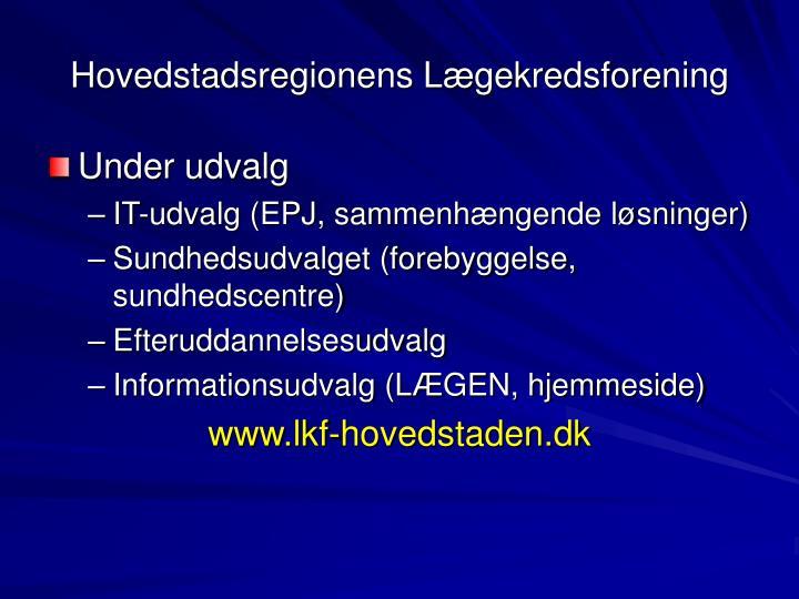 Hovedstadsregionens Lægekredsforening