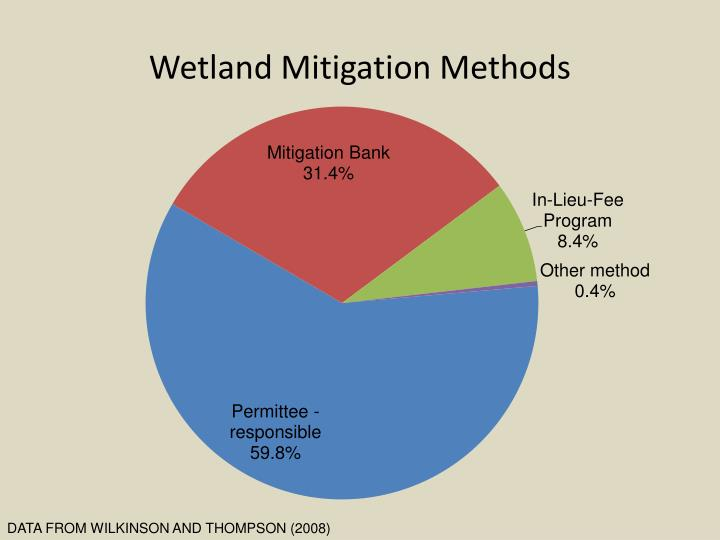 Wetland Mitigation Methods