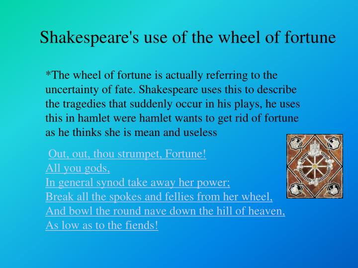 ppt - the wheel of fortune powerpoint presentation