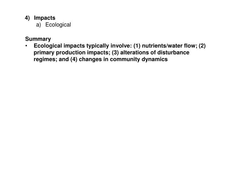 Impacts