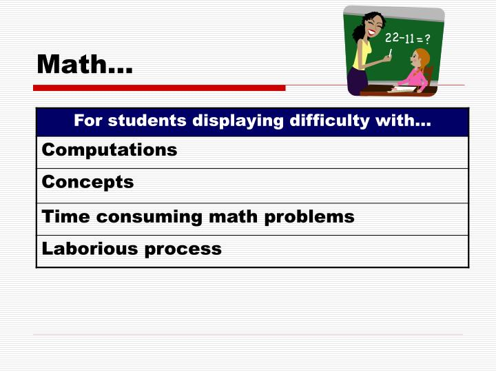 Math…