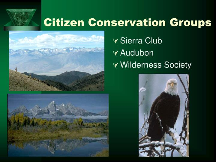 Citizen Conservation Groups