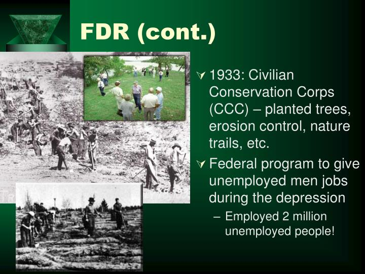 FDR (cont.)