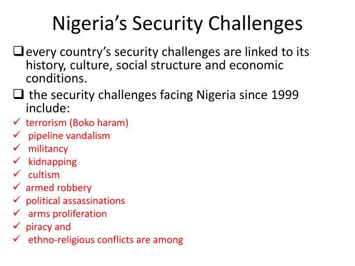 Nigeria's