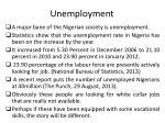 u nemployment