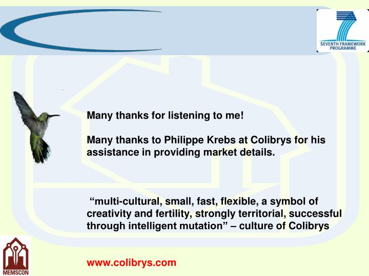 Many thanks for listening to me!