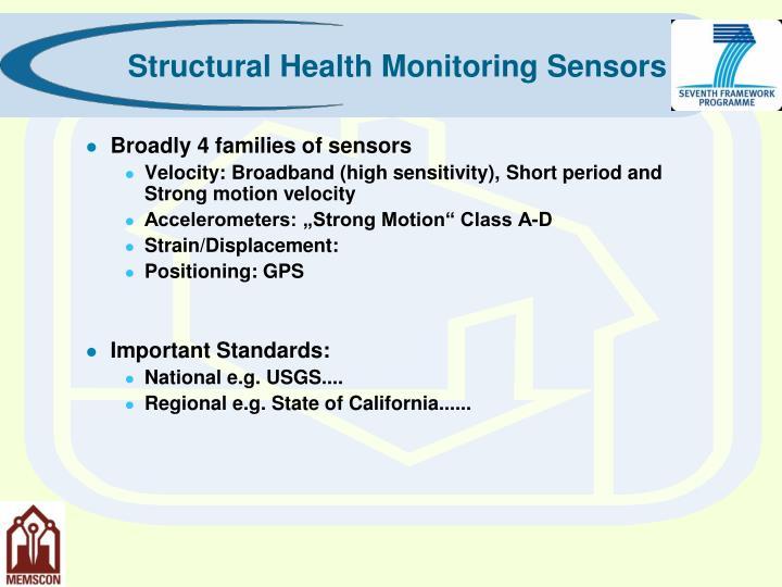 Structural Health Monitoring Sensors