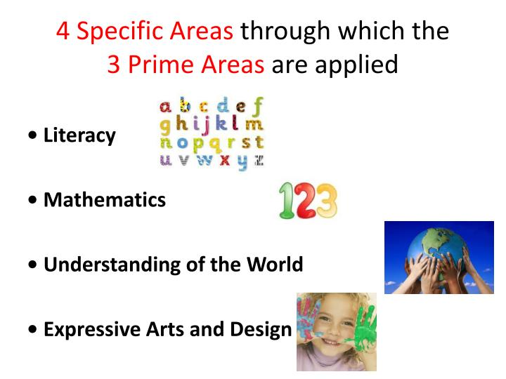 4 Specific Areas