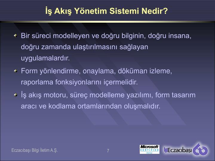 İş Akış Yönetim Sistemi Nedir?