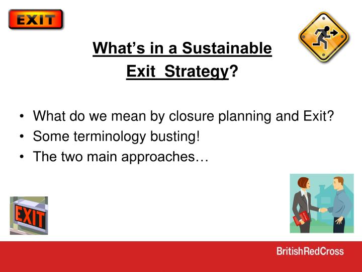 What's in a Sustainable