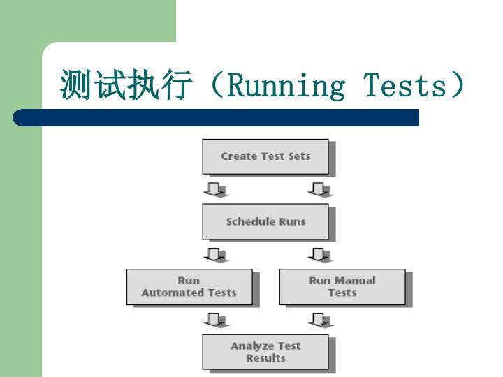 测试执行(
