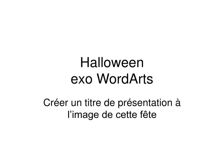 halloween exo wordarts