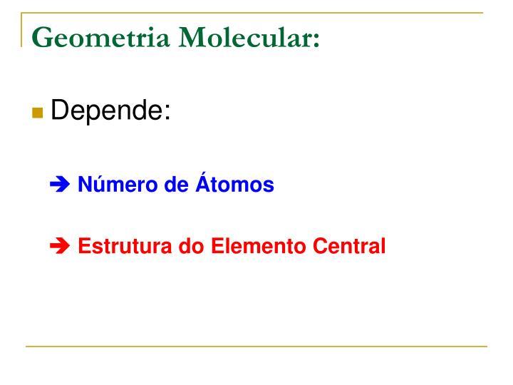 Geometria Molecular: