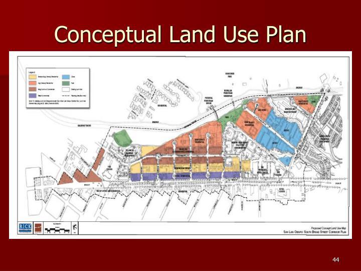 Conceptual Land Use Plan