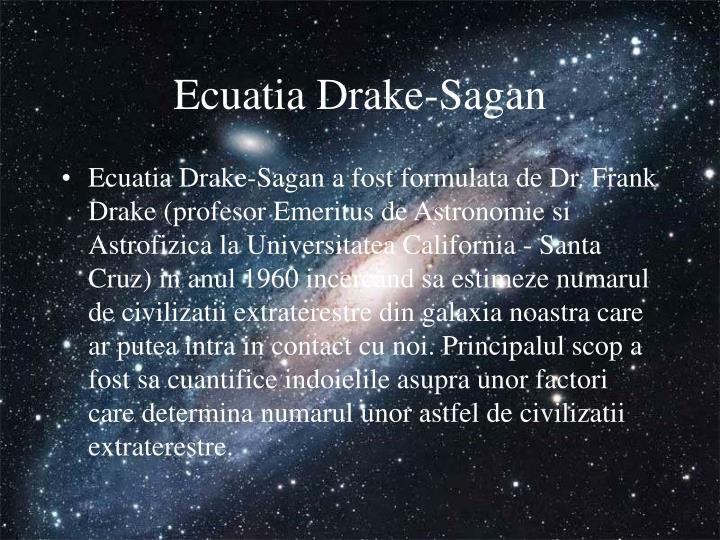 Ecuatia Drake-Sagan