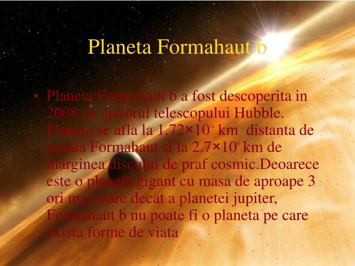 Planeta Formahaut b