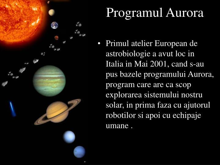 Programul Aurora
