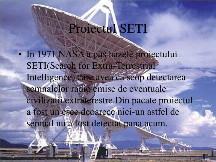Proiectul SETI