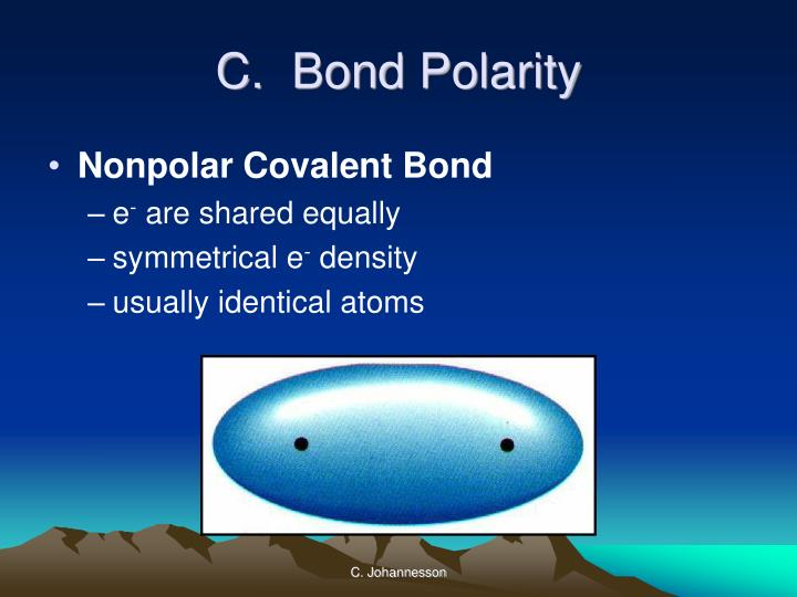 C.  Bond Polarity