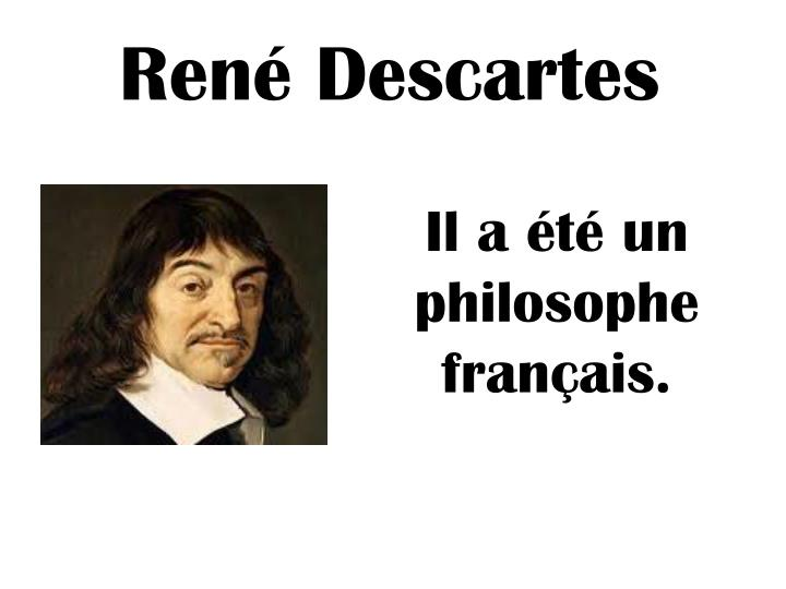 rene descartes essays My paper is on rene descartes second meditation i chose to analyze and critique the concepts and ideas that were presented in rene descartes second.