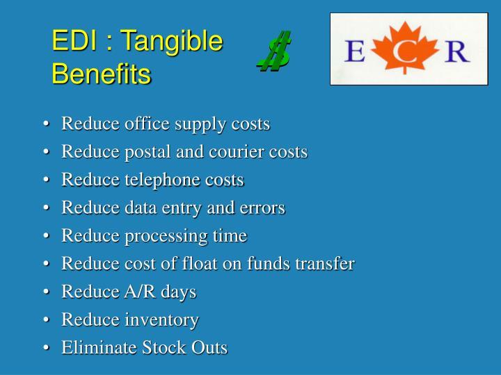 EDI : Tangible
