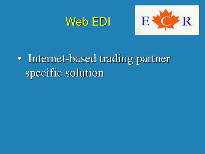 Web EDI