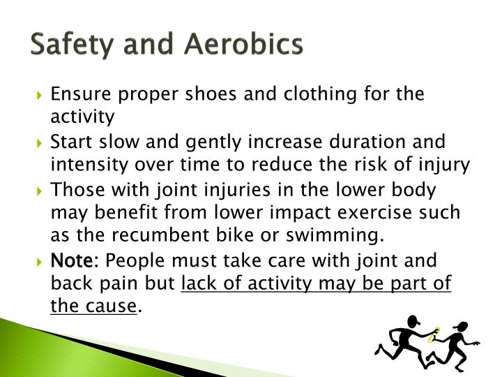 Safety and Aerobics
