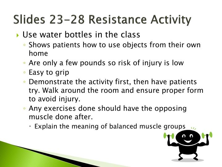 Slides 23-28 Resistance Activity
