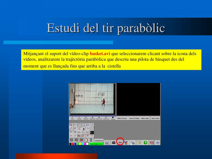 Estudi del tir parabòlic