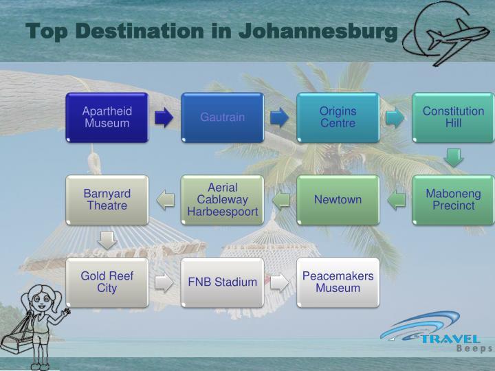 Top Destination in Johannesburg