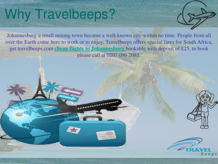 Why Travelbeeps?
