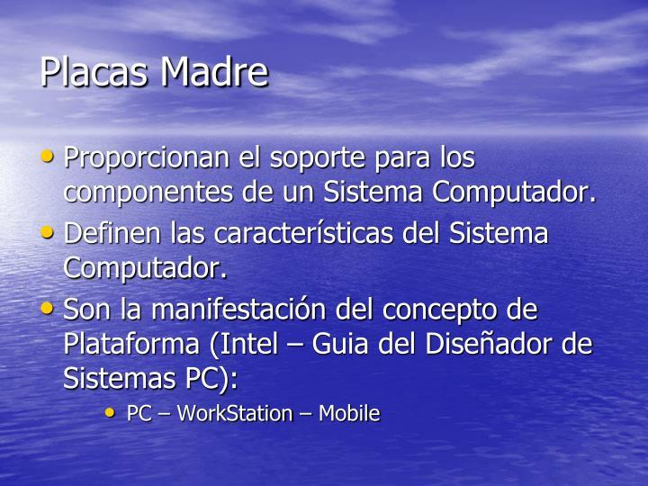 Placas Madre