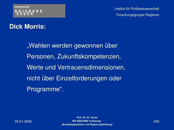 Dick Morris: