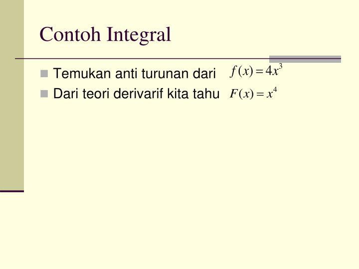 Contoh Integral