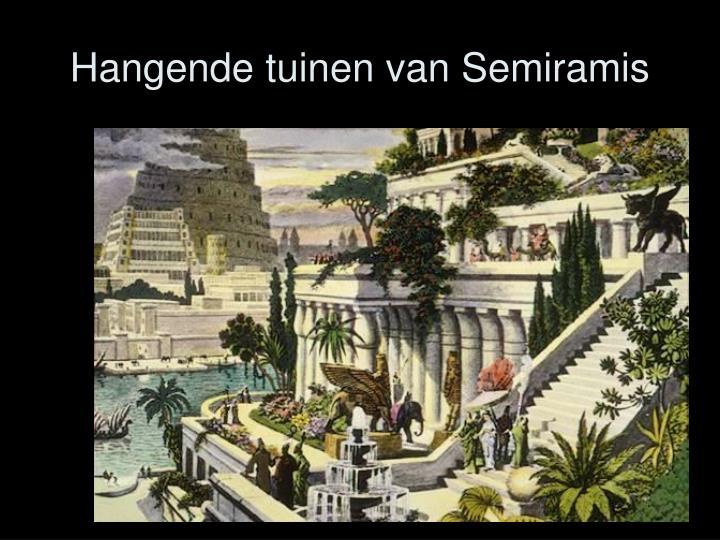 Hangende tuinen van Semiramis