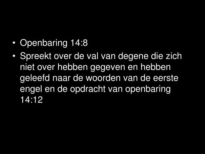 Openbaring 14:8