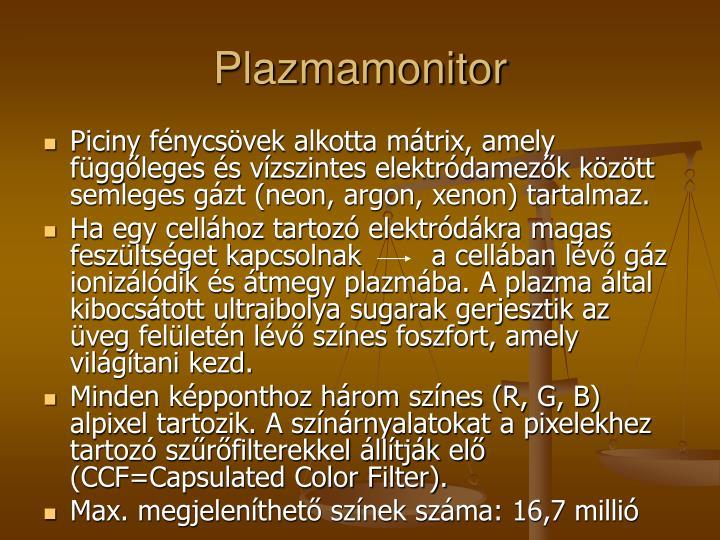 Plazmamonitor